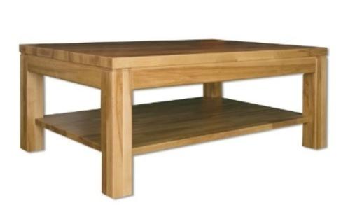 Konferenční Stůl St310 S100 Masiv Dub šířka Desky 25 Cm